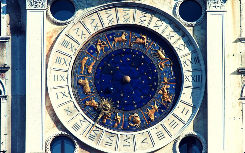 orologio venezia astrologia