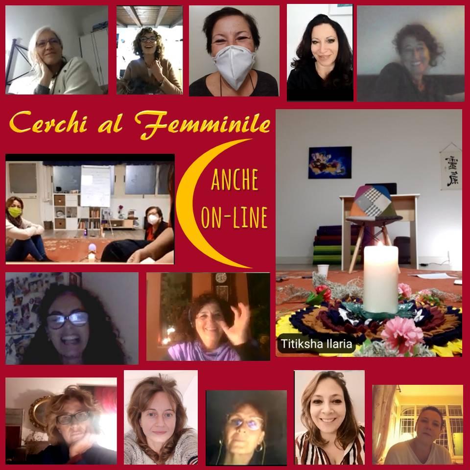 donne, femminile, cerchi, tendarossa, eventi, roma, femmine
